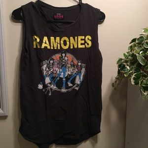 Destroyed Ramones Muscle Tank